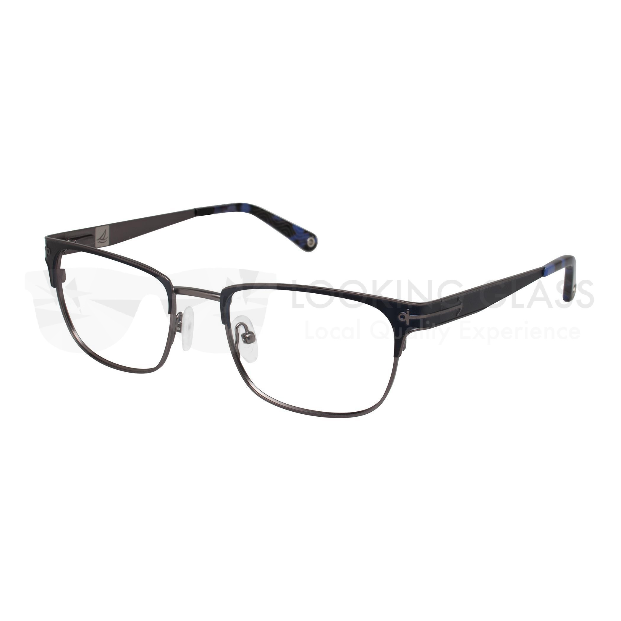 165d8bbe491 Sperry Hilton Head 53 NAVY GUN (C03) eyeglasses - eyeMAXXoutlet.com