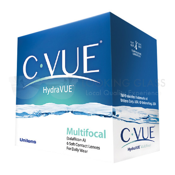 Unilens C-VUE® HYDRAVUE™ MULTIFOCAL Contact Lenses