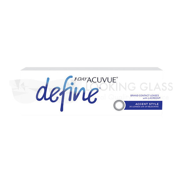 1-DAY ACUVUE® define™ Accent Style