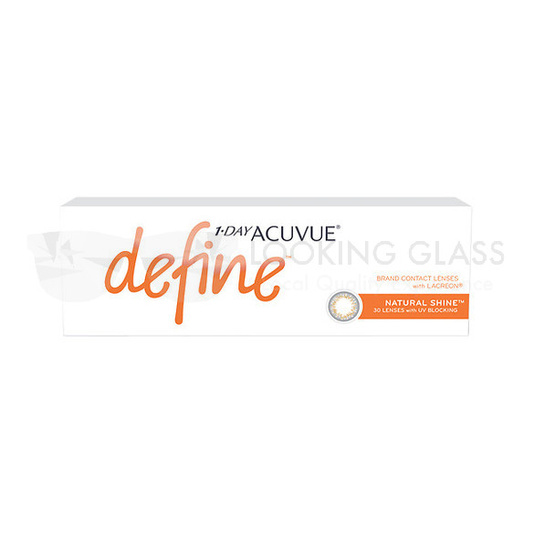 1-DAY ACUVUE® define™ Natural Shine