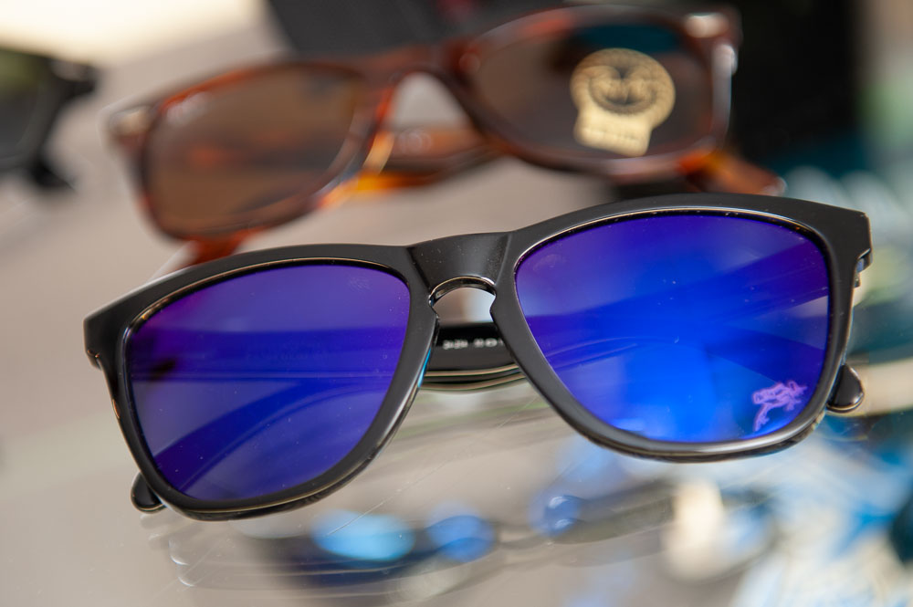 A pair of sunglasses available for sale at Looking Glass Vision